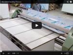 Процесс изгиба композитной панели