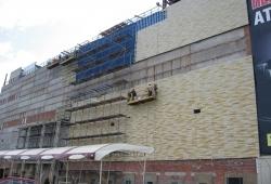 Вентилируемый фасад торгово-развлекательных центров
