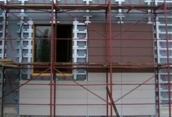 Подготовка здания перед монтажом навесных вентилируемых фасадов