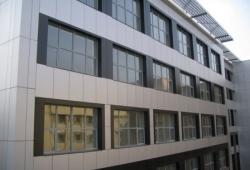 Один из корпусов УрГЭУ-СИНХ (Екатеринбург) к осени преобразится