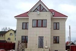 Использование навесного вентилируемого фасада в частном строительстве