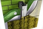Монтаж навесных вентилируемых фасадов из Керамогранита