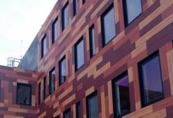 Внедрение цветных навесных вентилируемых фасадов в городское строительство